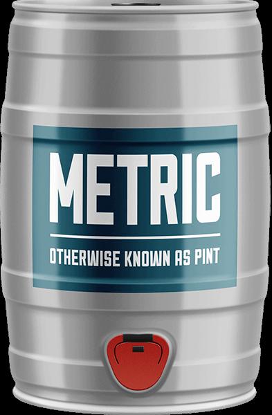 Metric (Pint-ish) 5L Cask